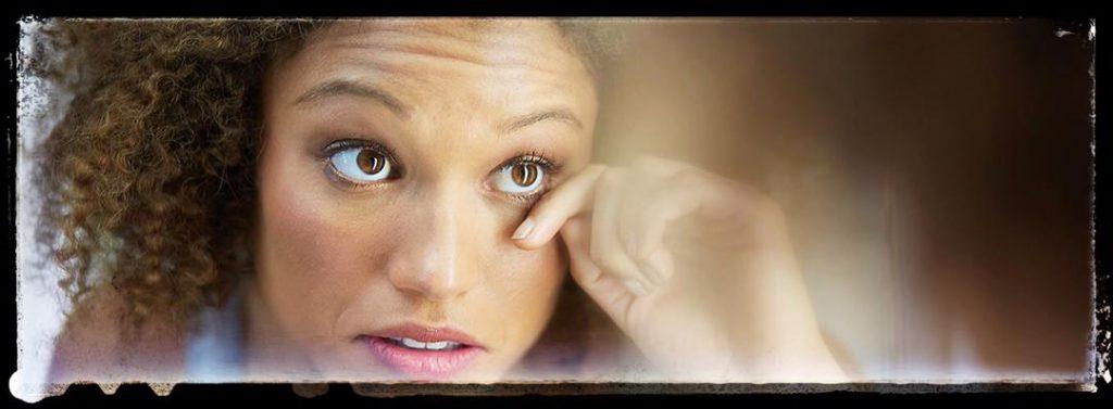 درمان سریع گودی زیر چشم